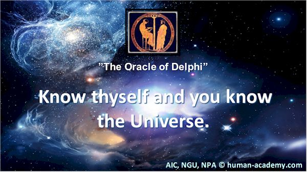 Know thyself and you know the universe