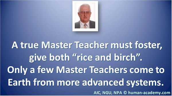 A true spiritual master teacher